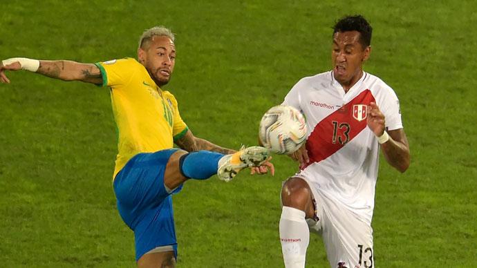 BRAZIL - PERU 1:0